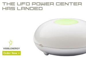 The UFO Power Center has landed